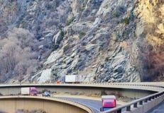 Paesaggio della strada principale di Colorado Fotografia Stock Libera da Diritti