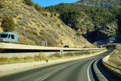 Paesaggio della strada principale di Colorado Immagini Stock Libere da Diritti