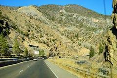 Paesaggio della strada principale di Colorado Immagine Stock Libera da Diritti