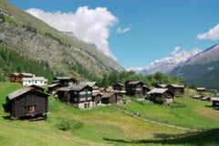 paesaggio della Svizzera Fotografie Stock