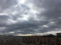 paesaggio della tempesta politica a Washington Immagine Stock Libera da Diritti