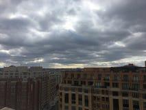 paesaggio della tempesta politica a Washington Fotografie Stock