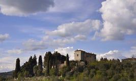 ? di Podere (Toscana) immagini stock