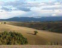 Paesaggio della Toscana, Italia Fotografie Stock Libere da Diritti