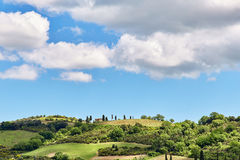Paesaggio della Toscana, Toscana, Italia Fotografia Stock
