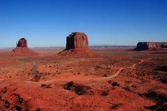 Paesaggio della valle del monumento Immagini Stock