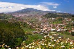 Paesaggio della valle della montagna Immagini Stock Libere da Diritti