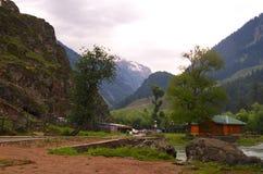 Paesaggio della valle di Betab in Pahalgam-1 Immagine Stock