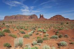 Paesaggio della valle e di circondare del monumento Fotografia Stock Libera da Diritti