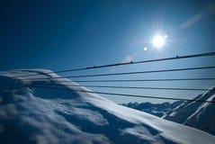 Paesaggio delle alpi Immagini Stock