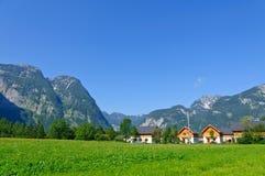 Paesaggio delle alpi in Austria Immagine Stock