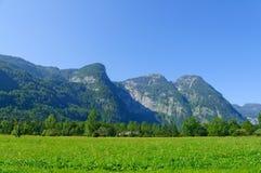 Paesaggio delle alpi in Austria Fotografie Stock