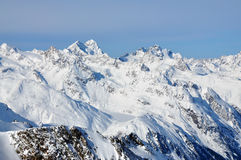 Paesaggio delle alpi, da Tirol Immagini Stock
