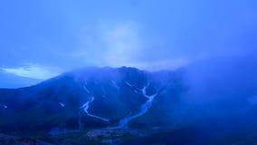Paesaggio delle alpi del Nord del Giappone Immagine Stock Libera da Diritti
