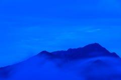 Paesaggio delle alpi del Nord del Giappone Fotografia Stock