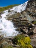 Paesaggio delle alpi del Tarentaise Immagini Stock