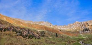 Paesaggio delle alpi di Bernese Fotografie Stock Libere da Diritti