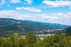 Paesaggio delle alpi di estate Fotografia Stock Libera da Diritti