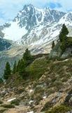 Paesaggio delle alpi di estate (Austria) Fotografie Stock Libere da Diritti