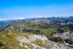 Paesaggio delle alpi svizzere Immagine Stock Libera da Diritti