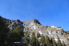 Paesaggio delle alpi svizzere Fotografie Stock