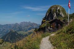 Paesaggio delle alpi svizzere fotografie stock libere da diritti