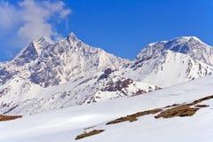 Paesaggio delle alpi svizzere Fotografia Stock Libera da Diritti