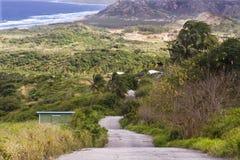 Paesaggio delle Barbados fotografia stock