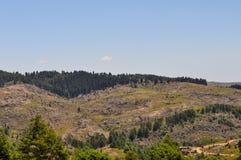Paesaggio delle colline in generale Belgrano, Cordova della villa fotografia stock