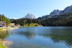 Paesaggio delle dolomia, Italia della montagna immagine stock