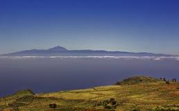 Paesaggio delle isole Canarie fotografie stock libere da diritti