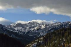 Paesaggio delle montagne Immagini Stock