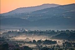 Paesaggio delle montagne fotografie stock