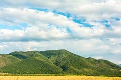 Paesaggio delle montagne carpatiche fotografia stock libera da diritti