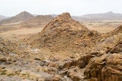 Paesaggio delle montagne del deserto Fotografia Stock Libera da Diritti