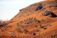Paesaggio delle montagne del drago di Drakensberg Immagine Stock Libera da Diritti