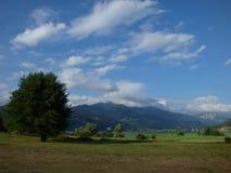 Paesaggio delle montagne del Montenegro fotografia stock