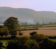 Paesaggio delle montagne delle colline della campagna di paesaggio Fotografia Stock Libera da Diritti