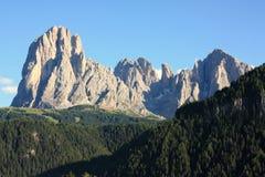 Paesaggio delle montagne delle dolomia in Italia Immagine Stock Libera da Diritti