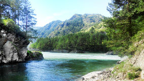 Paesaggio delle montagne di Altai Immagini Stock Libere da Diritti