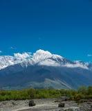 Paesaggio delle montagne di Georgia Fotografia Stock Libera da Diritti