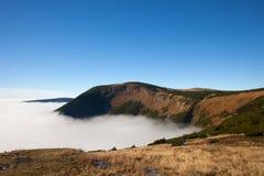 Paesaggio delle montagne di Karkonosze Immagini Stock Libere da Diritti
