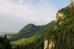 Paesaggio delle montagne rocciose Immagine Stock