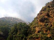 Paesaggio delle montagne selvagge Immagine Stock Libera da Diritti