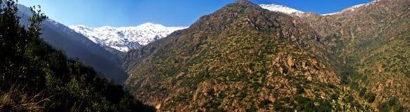 Paesaggio delle montagne selvagge Fotografie Stock Libere da Diritti