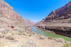 Paesaggio delle rocce di Grand Canyon Fotografia Stock Libera da Diritti