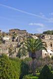 Paesaggio delle rovine di pompeii Fotografia Stock