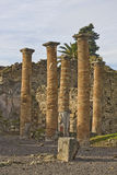 Paesaggio delle rovine di pompeii Fotografie Stock