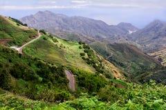Paesaggio delle strade nelle montagne Fotografie Stock Libere da Diritti