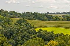 Paesaggio dello Iowa fotografia stock libera da diritti